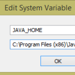 How to set Java_Home path in windows pc