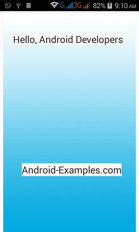 Android FrameLayout Example Tutorial