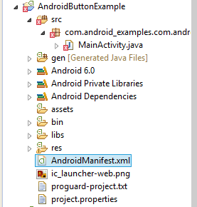 AndroidManifest-xml file