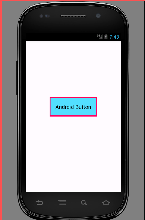 Add border to button in android