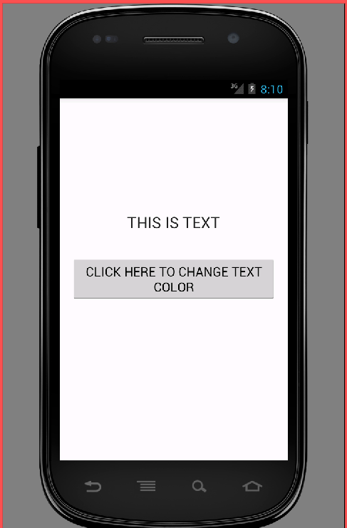 Set TextView text color in android programmatically - Android Examples