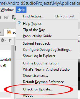 How to manually update android studio to latest version