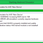 Solve Emulator error x86 emulation currently requires hardware acceleration android studio