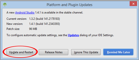 platfrom and plugin updates