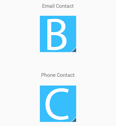 Android QuickContactBadge example tutorial