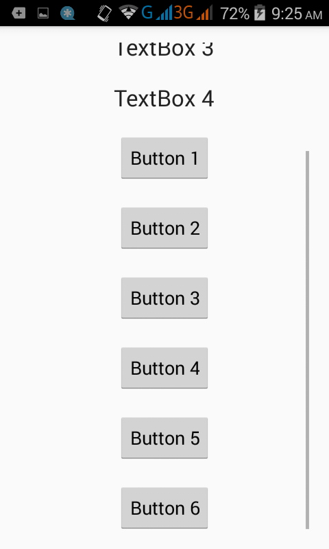 Android Vertical ScrollView example tutorial - Android Examples