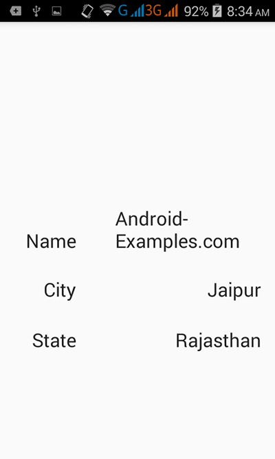 Pass data from one activity to another in android example