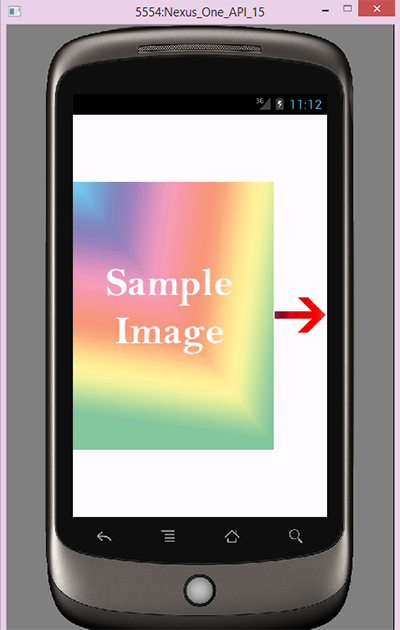 Sliding drawer example in android left to right tutorial