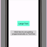 Android set textview padding programmatically tutorial