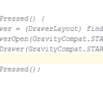 Add comments inside Android Studio,Eclipse code editor