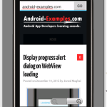 Create Android Web Browser Application Project Download
