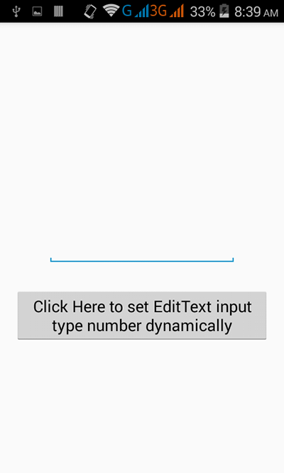 Set edittext input type number programmatically android