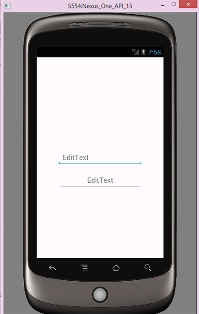 Center the hint text within an EditText in Android - Android