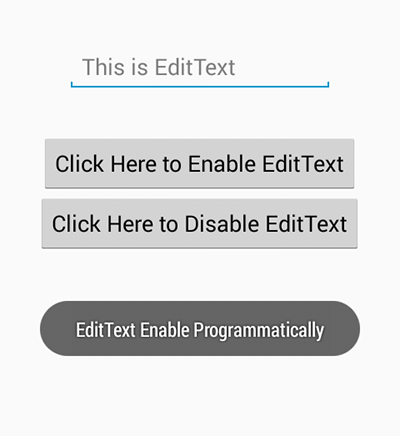 Hide Disable Soft Keyboard in android on EditText selection