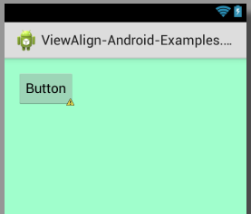 Set Align view to left side of relativelayout android using xml