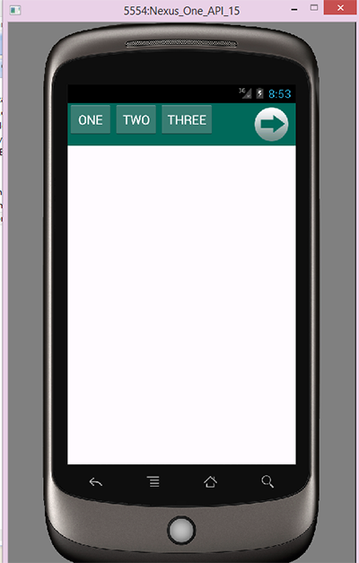 Android sliding horizontal menu using drawer tutorial example