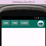 Android sliding horizontal menu using drawer tutorial example