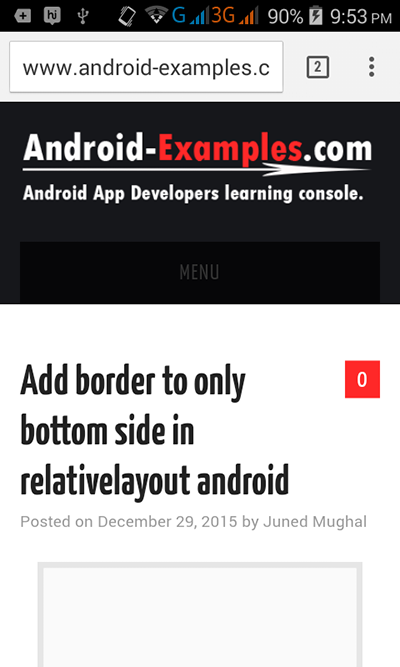 Open Website Url in Android's Web browser from application - Android