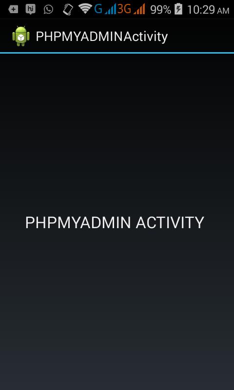 phpmyadmin_activity