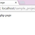 Run php file in windows using xampp server