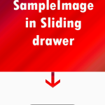 Android Sliding Drawer example tutorial