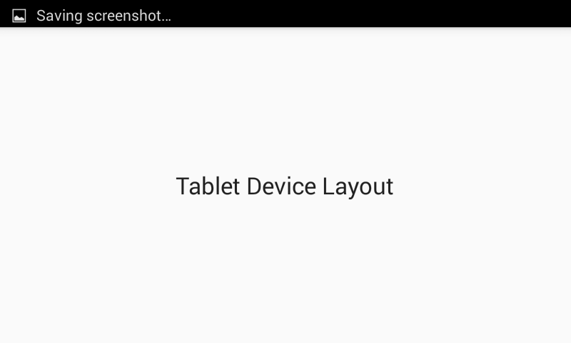 Support multiple screen sizes in android responsive example
