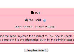 MYSQL SAID