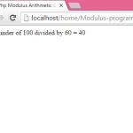 Php Modulus Arithmetic Operator Example Tutorial
