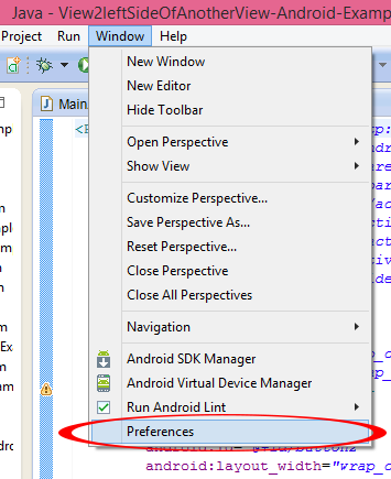 Writing android apps without eclipse tonight