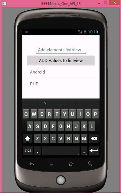 Add items to gridview dynamically in android using EditText
