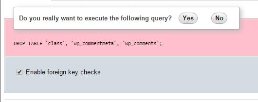 execute query