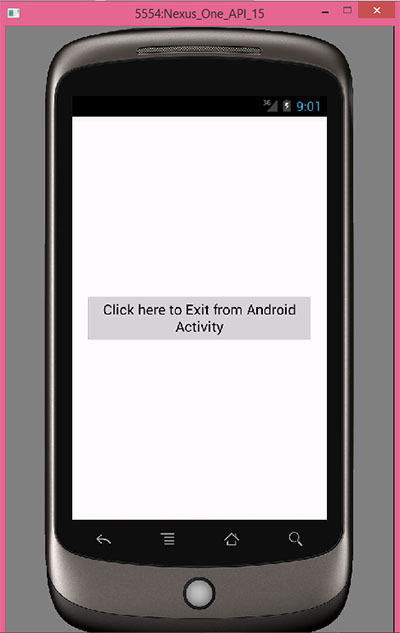 Exit/Close android app programmatically on button click - Android
