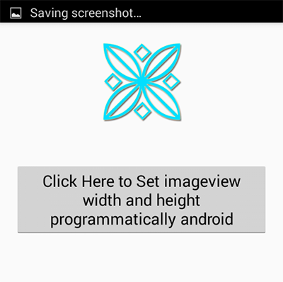 Set ImageView width and height programmatically android