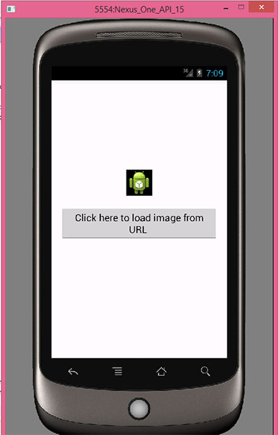 Load Image Inside Imageview From Http Url In Android Using