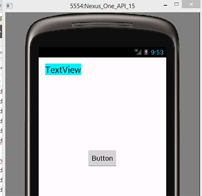 Place a view to right side of another view in relativelayout programmatically