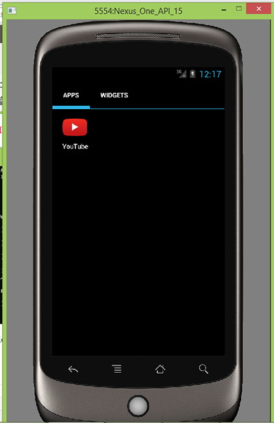 Manually Install external apk files on android emulator in