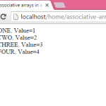 How to sort associative arrays in ascending order in PHP