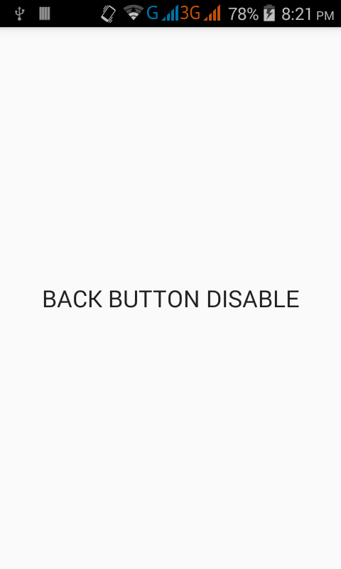 How to detect back button is pressed in android - Android