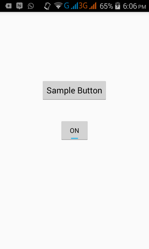 Enable Disable button in android programmatically - Android