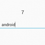 Count characters inside EditText in android programmatically