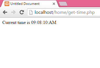 Get Display current time in 12 hour format with AM-PM in