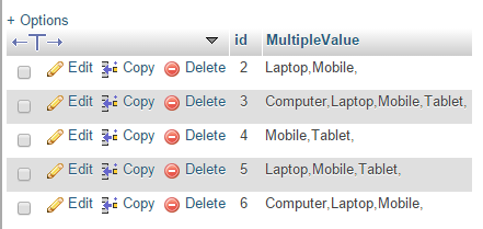 PHP Insert/Store multiple selected checkbox values in MySQL