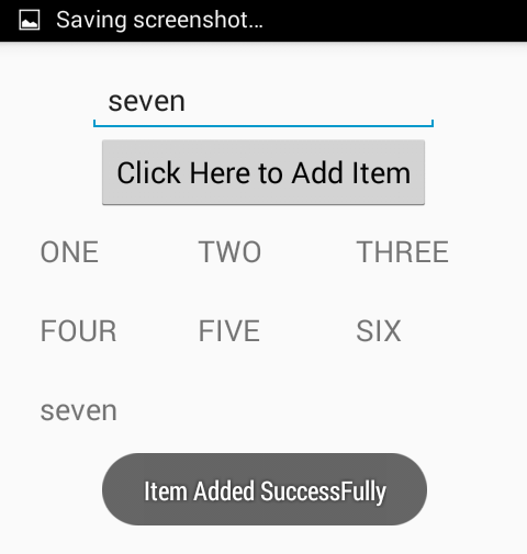 Add Items To Gridview Dynamically In Android Using