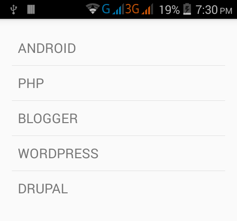 Change listview Row Item height in android programmatically