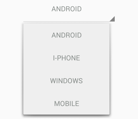 How to change spinner text Alignment/Gravity in android programmatically