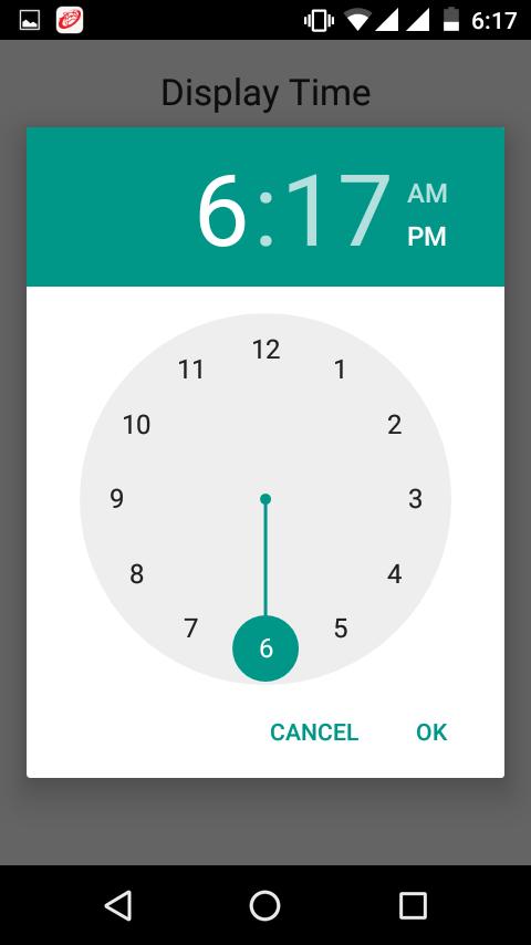 Change TimePickerDialog theme in android programmatically