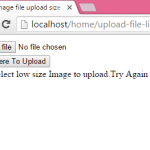 How to set image file upload size limit in PHP