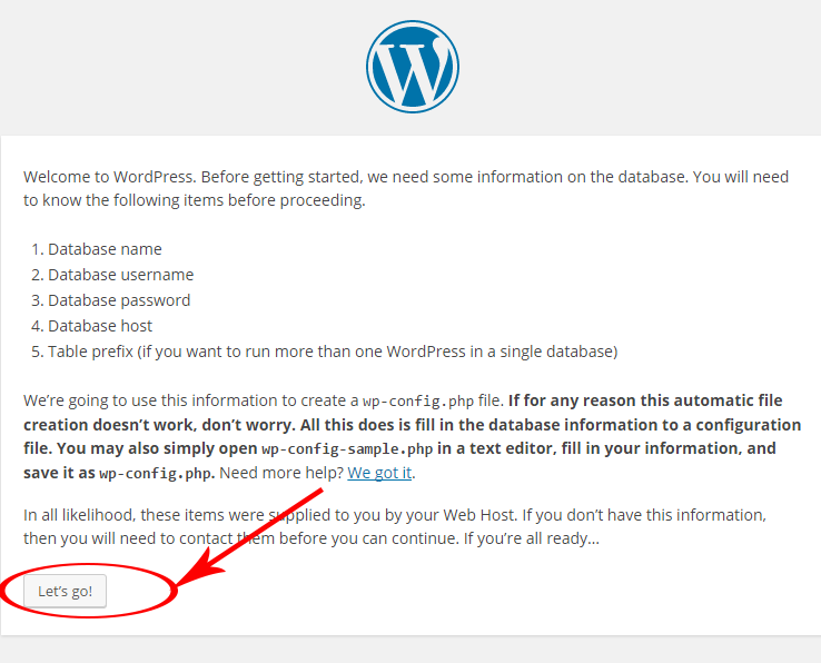 wordpress how to click on button to download resume