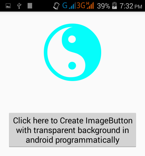 Set ImageButton background transparent in android XML - Android Examples