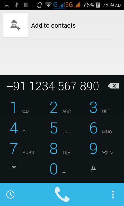 Only Dial a phone number in android programmatically